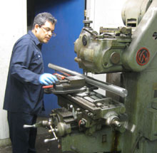 Kg power systems for Electric motor shaft repair